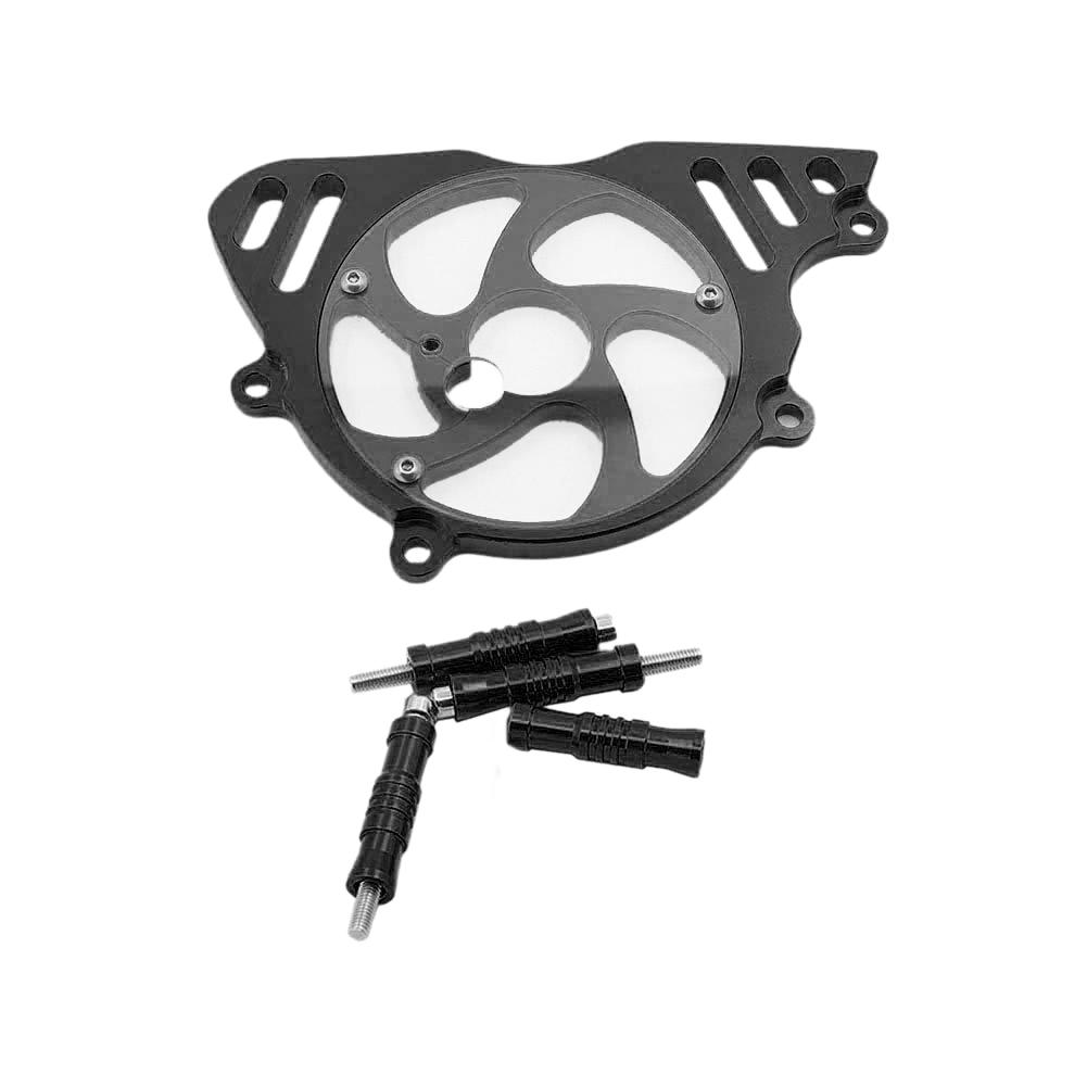 2X-Motorrad-Nachruestung-Zubehoer-Motorkettenrad-Schutz-Abdeckung-Kleine-SchwM5V2