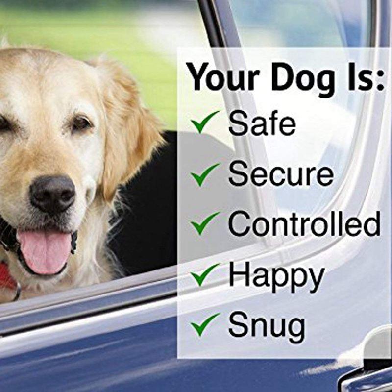 2-Packs-Dog-Cat-Safety-Seat-Belt-Strap-Car-Headrest-Restraint-Adjustable-Ny-E9F1 thumbnail 5