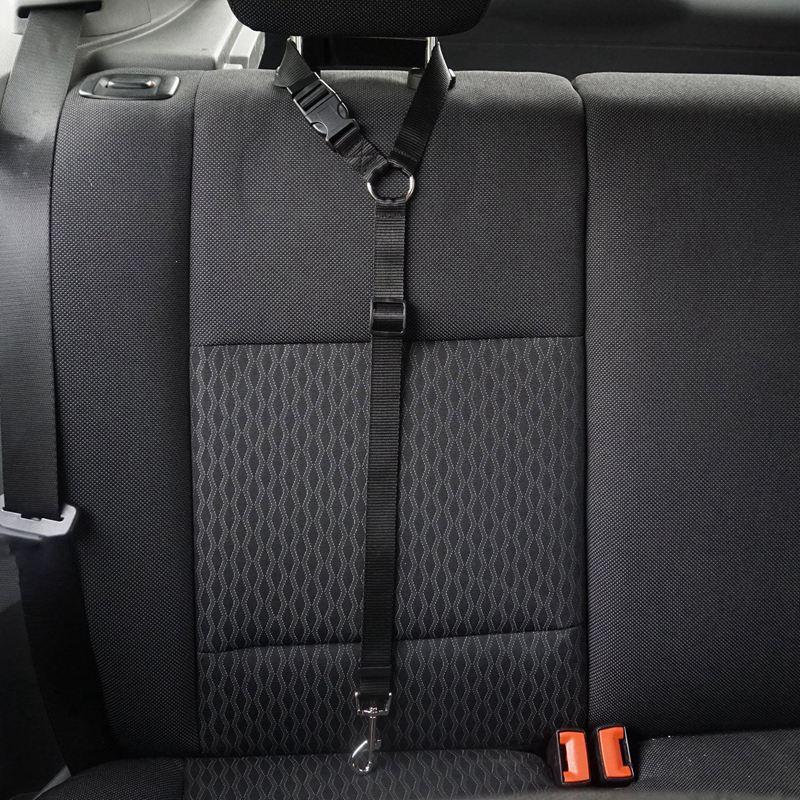 2-Packs-Dog-Cat-Safety-Seat-Belt-Strap-Car-Headrest-Restraint-Adjustable-Ny-E9F1 thumbnail 6