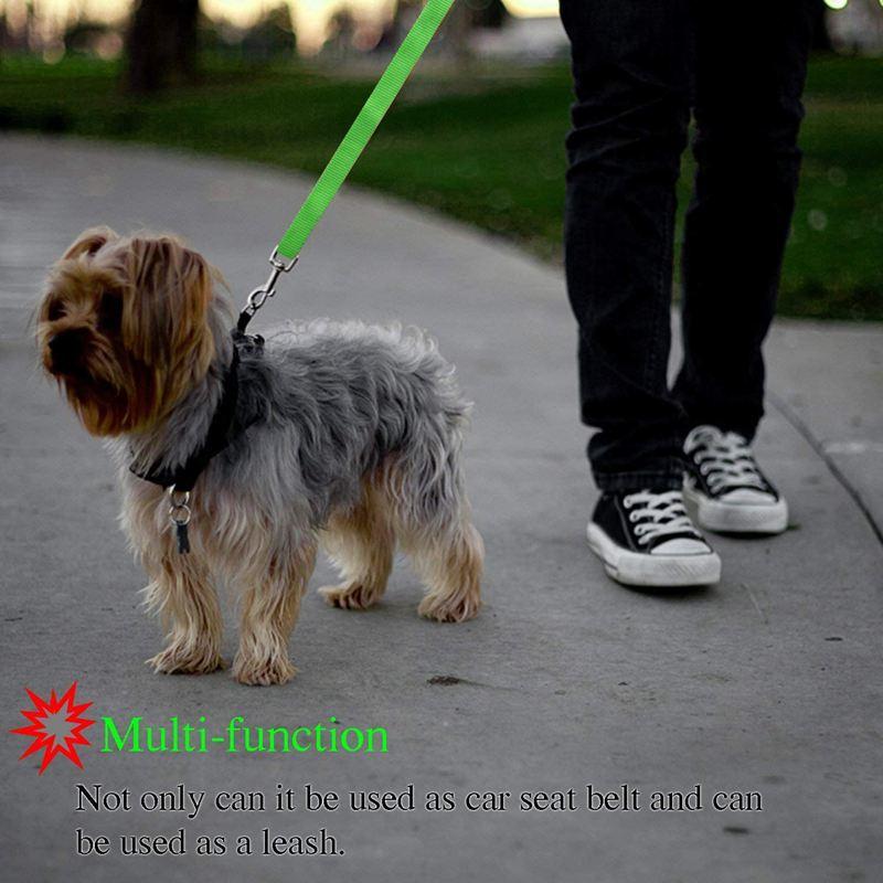 2-Packs-Dog-Cat-Safety-Seat-Belt-Strap-Car-Headrest-Restraint-Adjustable-Ny-E9F1 thumbnail 13