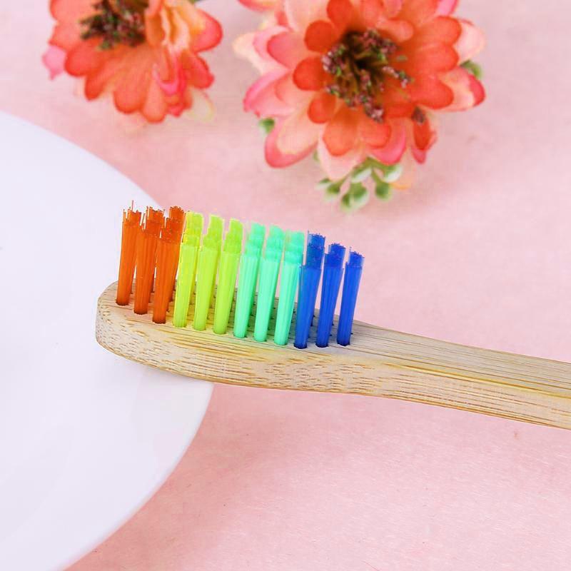 10pcs-Brosse-A-Dents-En-Bambou-Bois-Ecologique-Bambou-Bois-Ecologique-Bross-K1X9 miniature 7