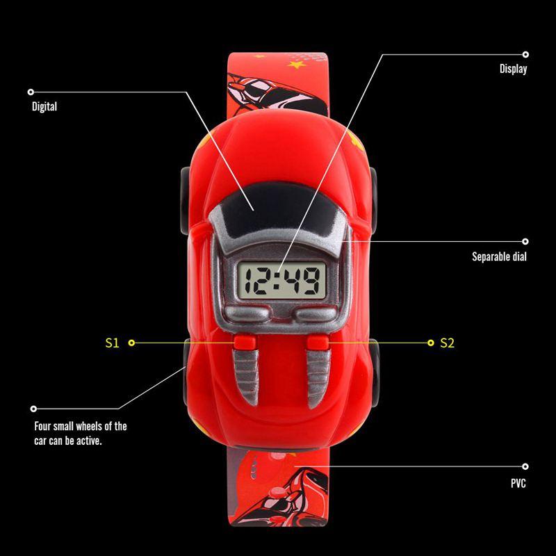 SKMEI-Montre-de-Sport-Brand-pour-Enfants-Style-Voiture-H6T5 miniature 10