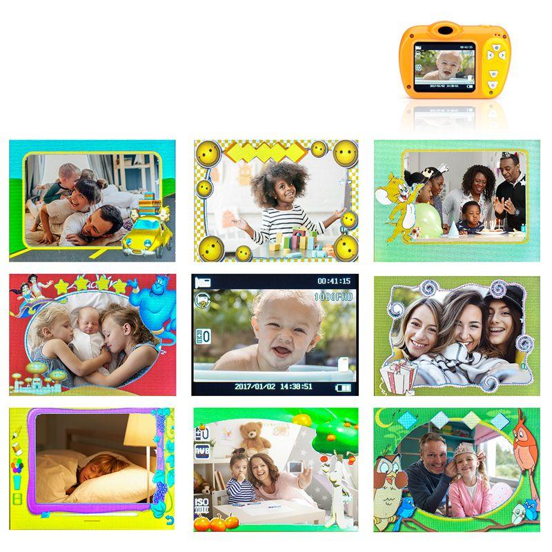 2-Pulgadas-8Mp-1080-Pixeles-Mini-Camara-Lsr-Camara-Digital-Para-Ninos-Bebe-D2U5 miniatura 5