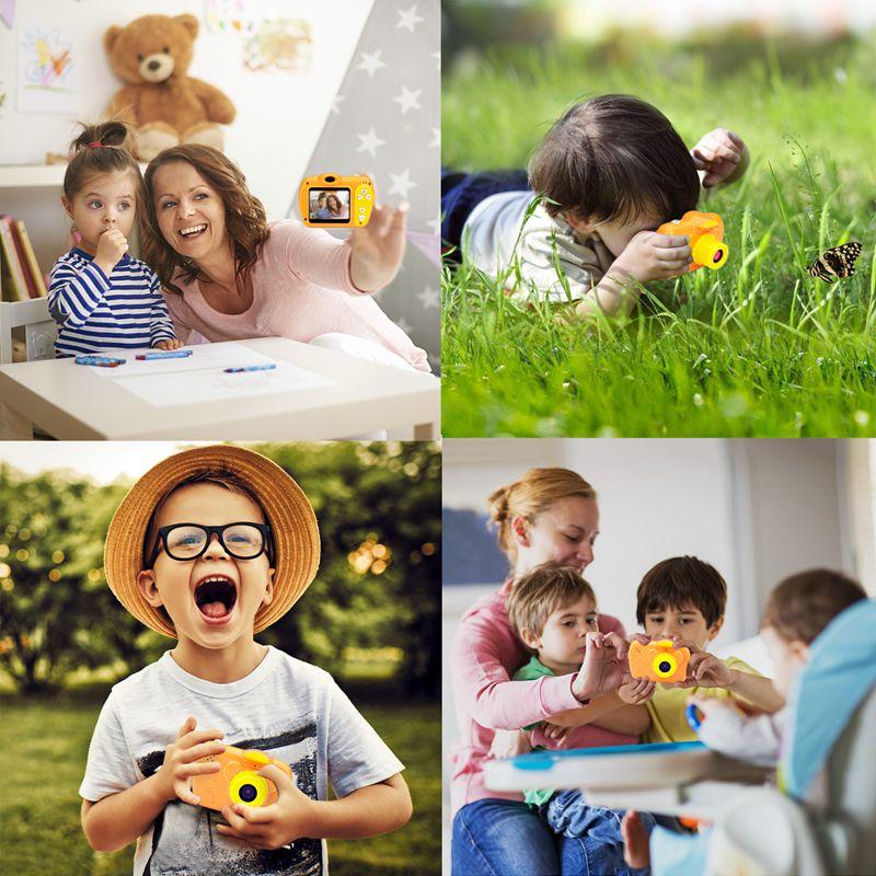 2-Pulgadas-8Mp-1080-Pixeles-Mini-Camara-Lsr-Camara-Digital-Para-Ninos-Bebe-D2U5 miniatura 6