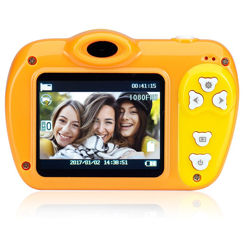 2-Pulgadas-8Mp-1080-Pixeles-Mini-Camara-Lsr-Camara-Digital-Para-Ninos-Bebe-D2U5 miniatura 7