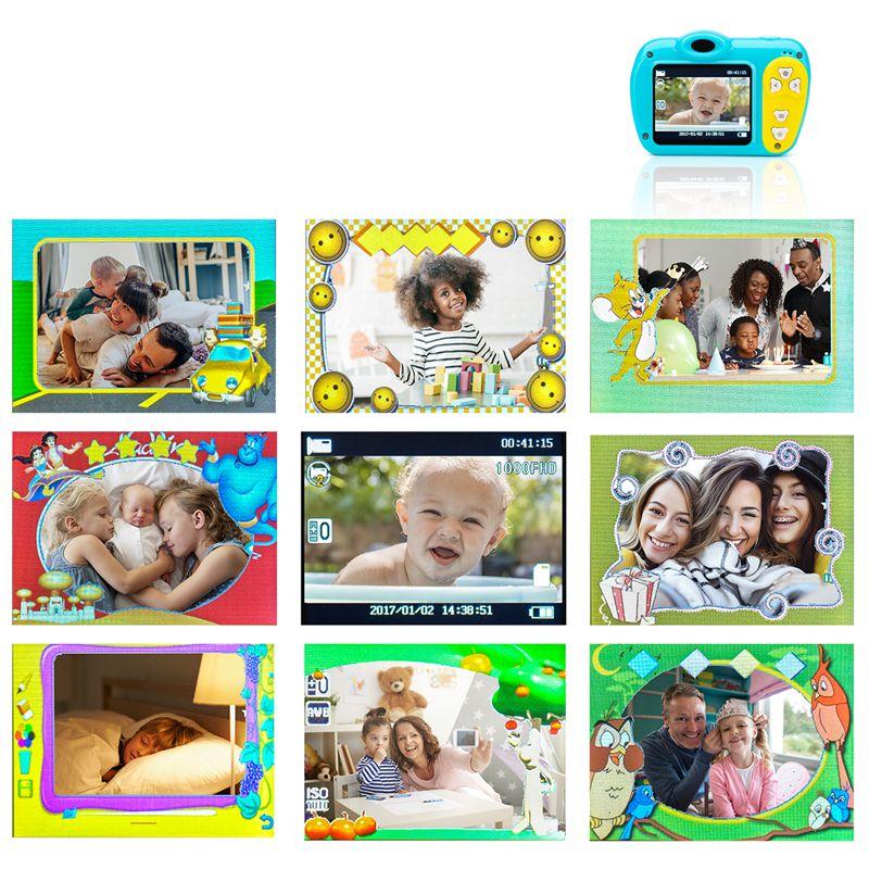 2-Pulgadas-8Mp-1080-Pixeles-Mini-Camara-Lsr-Camara-Digital-Para-Ninos-Bebe-D2U5 miniatura 11