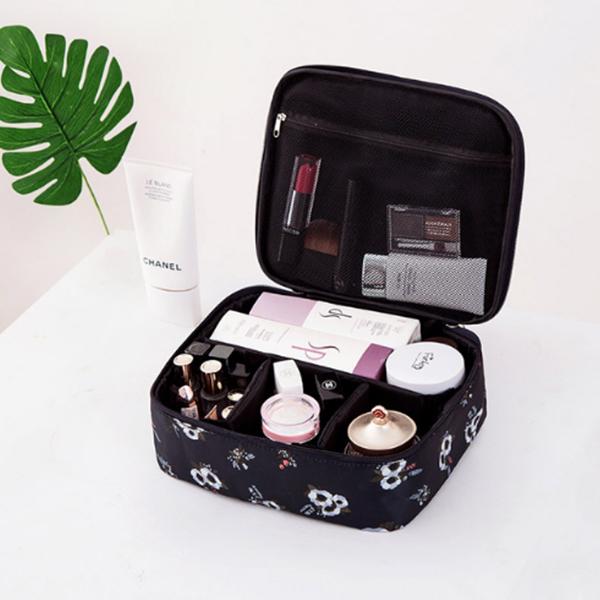 Sac-De-Maquillage-Cosmetique-De-Mode-De-Voyage-Pour-Dame-Sacs-De-Rangement-Q7Z7 miniature 9