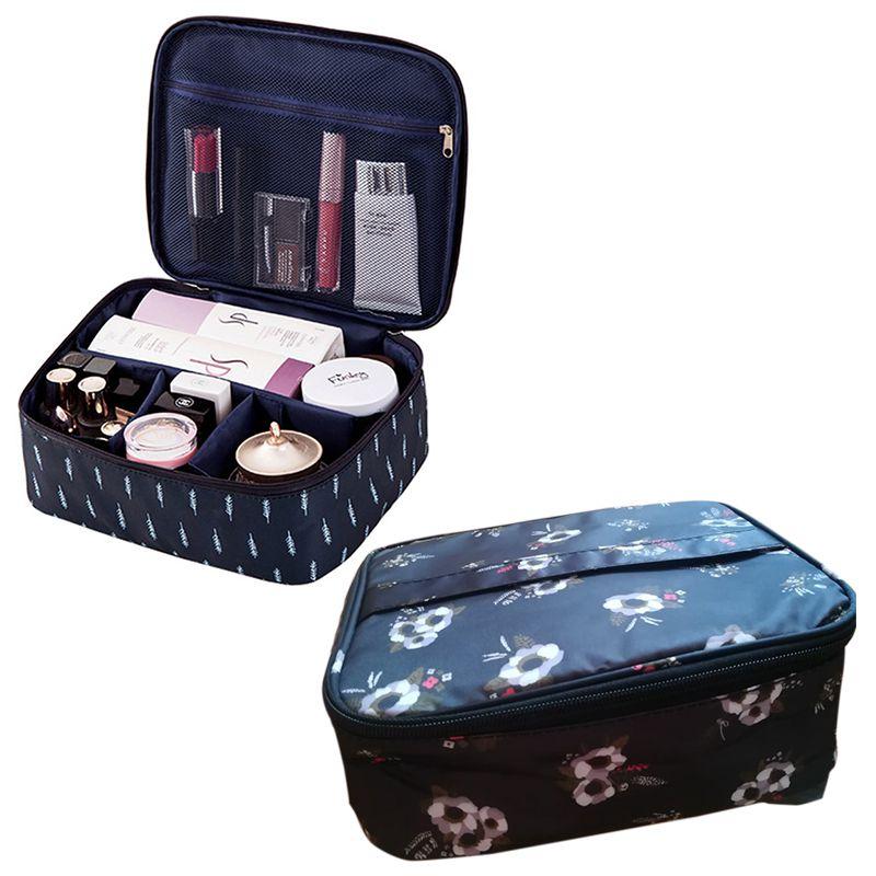 Sac-De-Maquillage-Cosmetique-De-Mode-De-Voyage-Pour-Dame-Sacs-De-Rangement-Q7Z7 miniature 13
