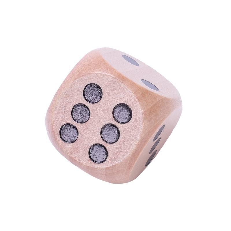 10-a-Six-Cotes-D6-Des-pour-Jeux-DE-Societe-Fait-DE-Bois-A1T8 miniature 12