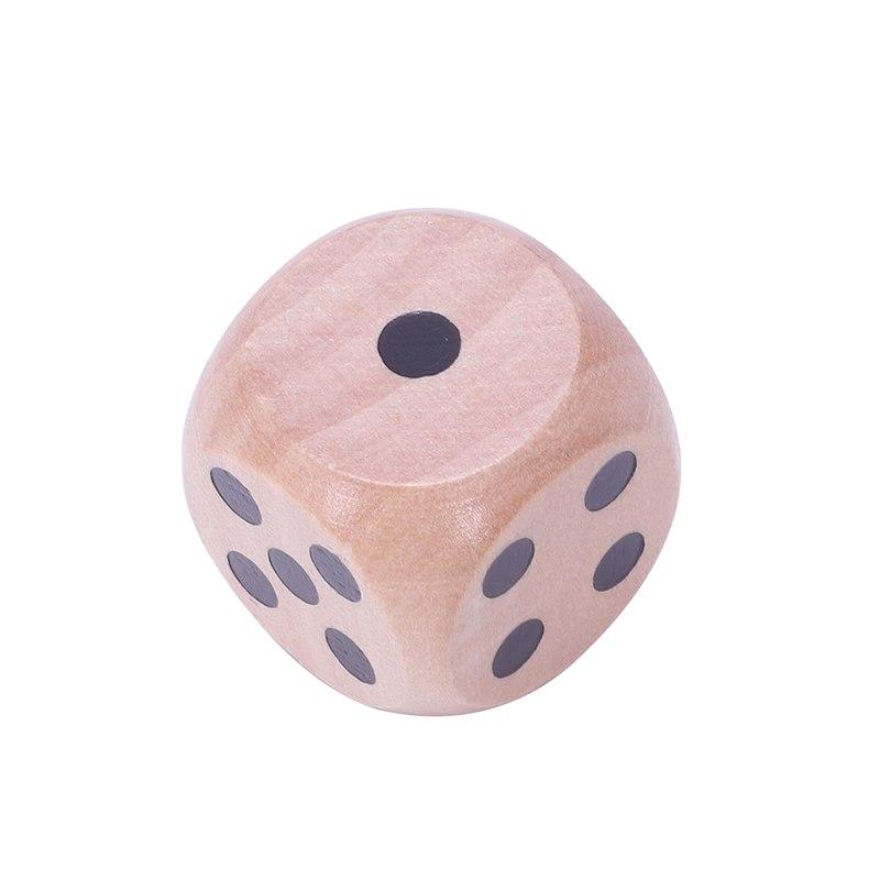 10-a-Six-Cotes-D6-Des-pour-Jeux-DE-Societe-Fait-DE-Bois-A1T8 miniature 13