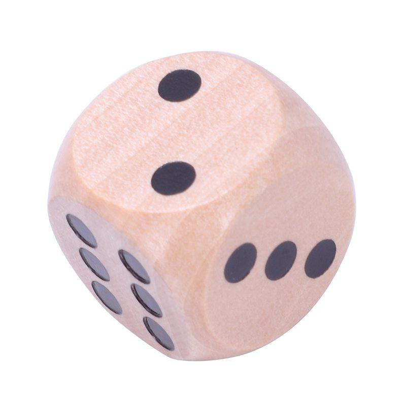 10-a-Six-Cotes-D6-Des-pour-Jeux-DE-Societe-Fait-DE-Bois-A1T8 miniature 14