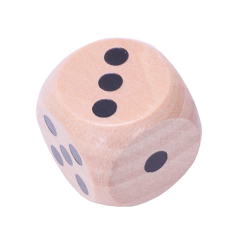 10-a-Six-Cotes-D6-Des-pour-Jeux-DE-Societe-Fait-DE-Bois-A1T8 miniature 15