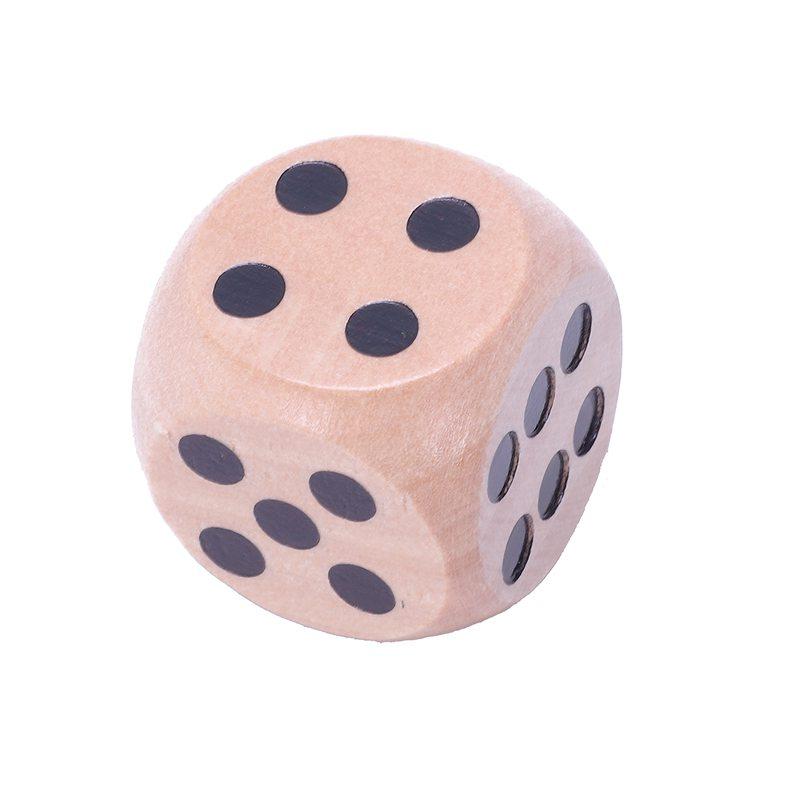 10-a-Six-Cotes-D6-Des-pour-Jeux-DE-Societe-Fait-DE-Bois-A1T8 miniature 16