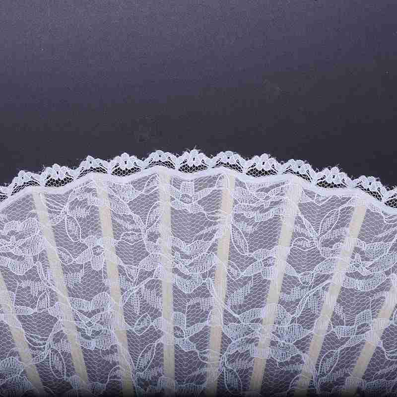 2X-Vintage-Hand-Fan-Wood-Lace-Hand-Fan-Wood-Hand-Fan-Fan-Summer-Solid-Party6S5 thumbnail 8