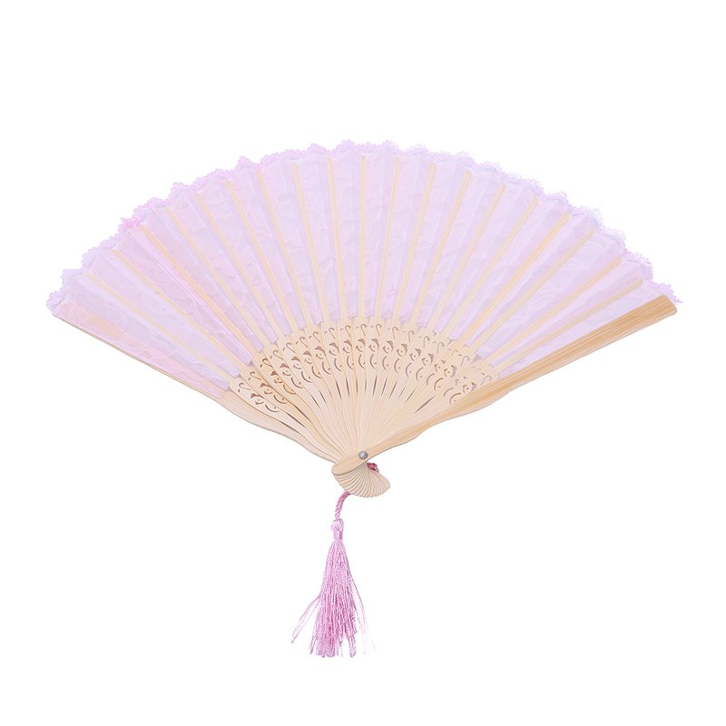 2X-Vintage-Hand-Fan-Wood-Lace-Hand-Fan-Wood-Hand-Fan-Fan-Summer-Solid-Party6S5 thumbnail 13