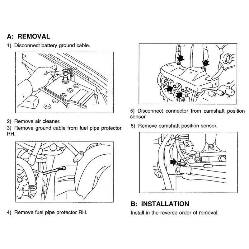 Camshaft Position Sensor For Buick Chevrolet GMC Pontiac Saab Saturn 12577245