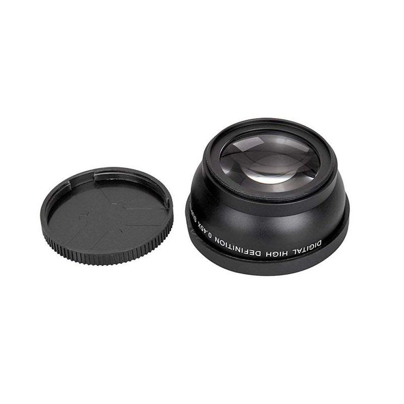 Objektivvorsatz 58 mm 0,45X Weitwinkel Konverter