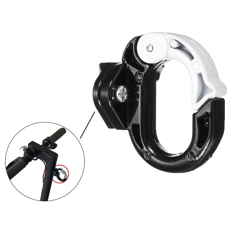 For-Xiaomi-Mijia-M365-Electric-Scooter-Front-Hook-Hanger-Helmet-Bags-Claw-D-J5U2 thumbnail 4