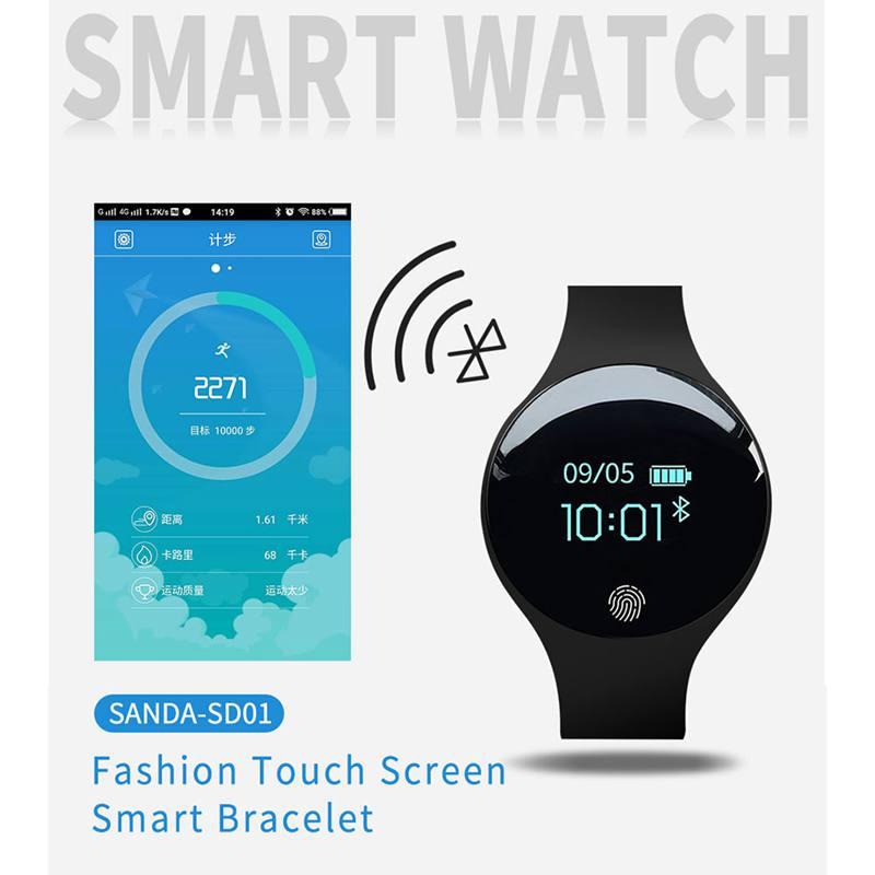 2X-SANDA-Bluetooth-Smart-Watch-For-Ios-Android-Men-Women-Sport-Intelligent-Z9C4 thumbnail 5