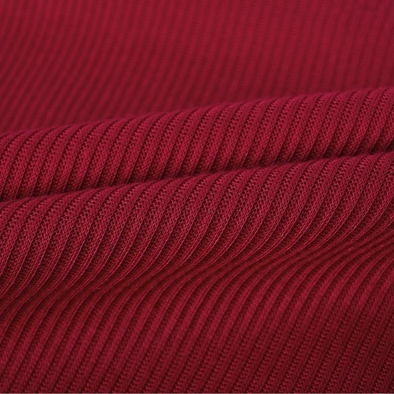 T-Shirt-Chandail-Cotele-En-Tricot-A-Longues-Manches-Une-Epaule-Sexy-Pour-Fe-E6P1 miniature 35