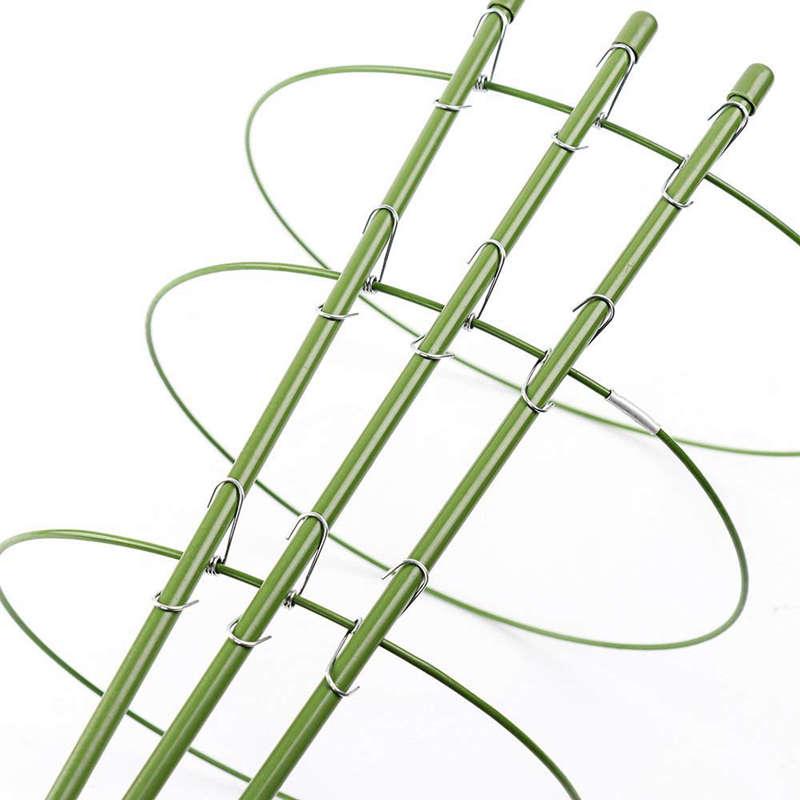 Cabilock Traliccio per Piante in Vaso da 2 Pezzi per Piante con Supporto a Traliccio per Gabbie per Piante Rampicanti 45 Cm
