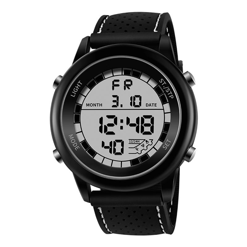 Sanda Reloj Digital Luminoso De Moda Impermeable Reloj De