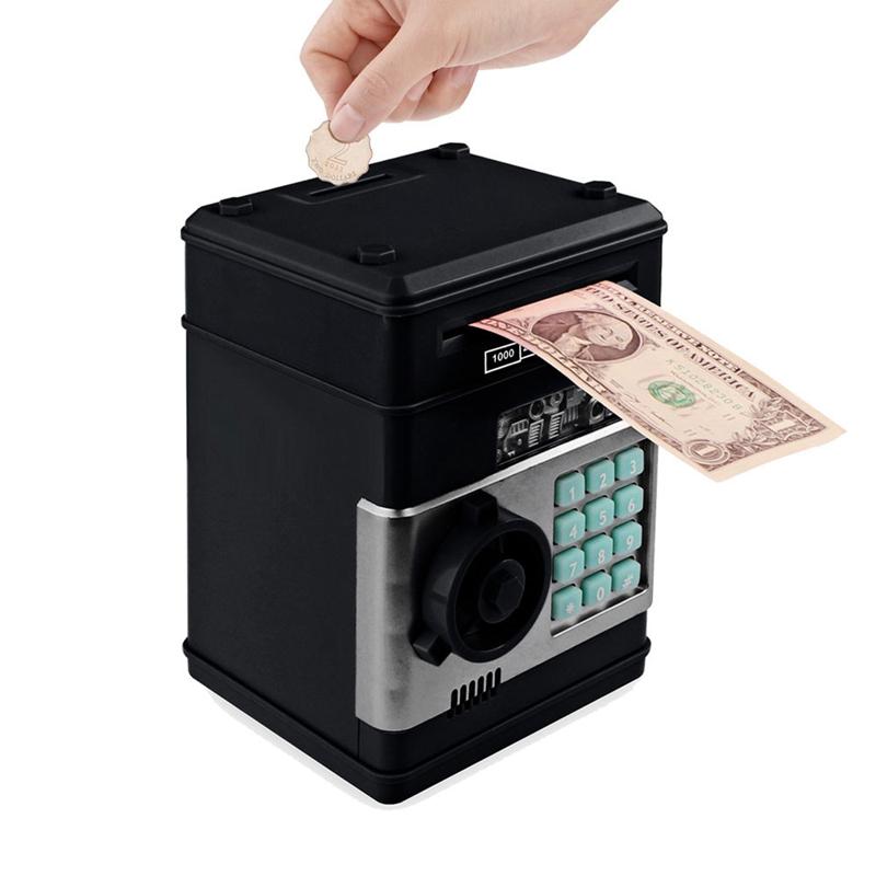 Hucha-Electronica-Contrasena-Caja-De-Dinero-Caja-De-Ahorro-De-Monedas-De-Efe-6W8 miniatura 23