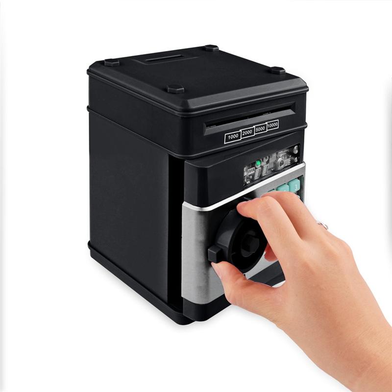 Hucha-Electronica-Contrasena-Caja-De-Dinero-Caja-De-Ahorro-De-Monedas-De-Efe-6W8 miniatura 30
