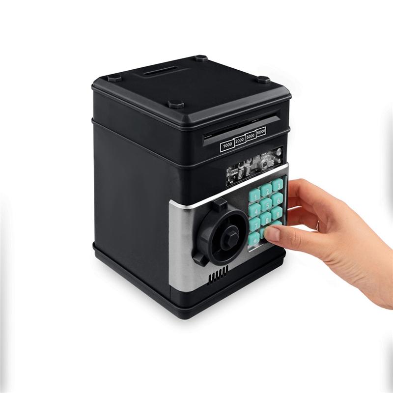 Hucha-Electronica-Contrasena-Caja-De-Dinero-Caja-De-Ahorro-De-Monedas-De-Efe-6W8 miniatura 31