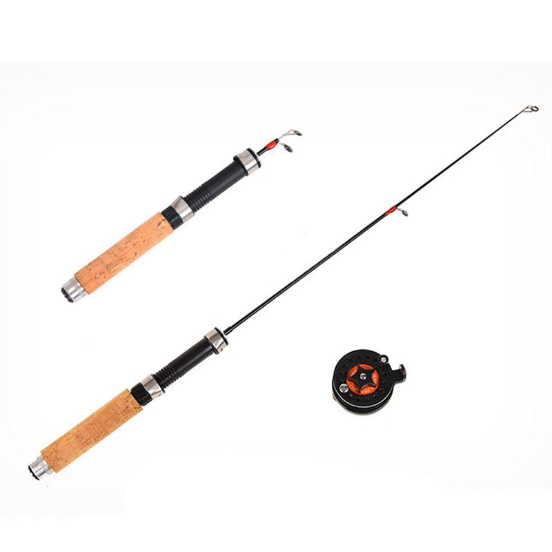 3X-Winter-Super-short-retractable-Ice-Fishing-Rod-Telescopic-Mini-ice-Fishi-C2R2 thumbnail 3