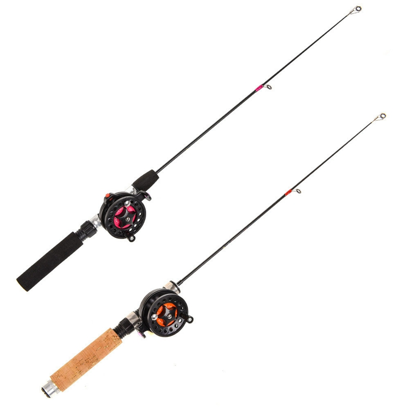 3X-Winter-Super-short-retractable-Ice-Fishing-Rod-Telescopic-Mini-ice-Fishi-C2R2 thumbnail 4