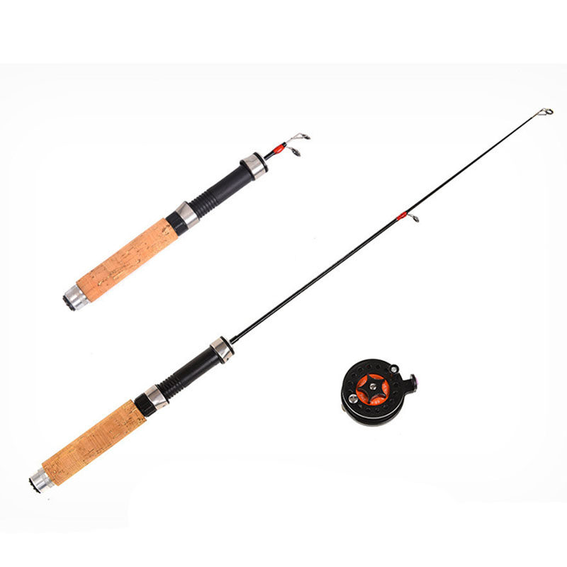 2X-Winter-Super-short-retractable-Ice-Fishing-Rod-Telescopic-Mini-ice-Fishi-L1Y2 thumbnail 4