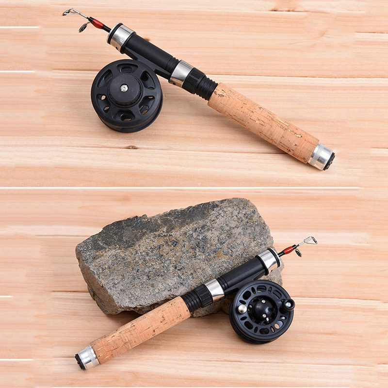 2X-Winter-Super-short-retractable-Ice-Fishing-Rod-Telescopic-Mini-ice-Fishi-L1Y2 thumbnail 7