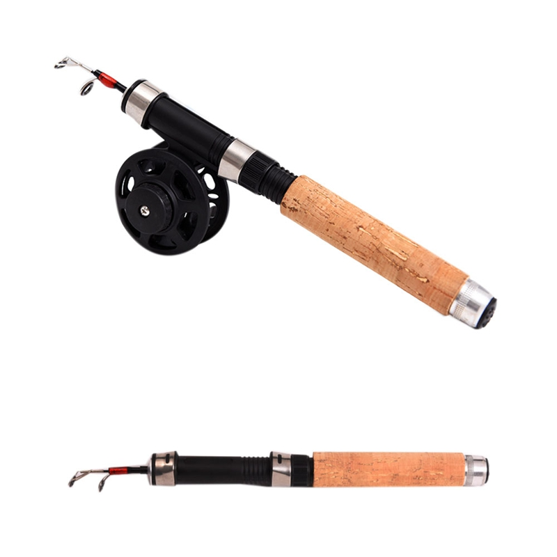 2X-Winter-Super-short-retractable-Ice-Fishing-Rod-Telescopic-Mini-ice-Fishi-L1Y2 thumbnail 8