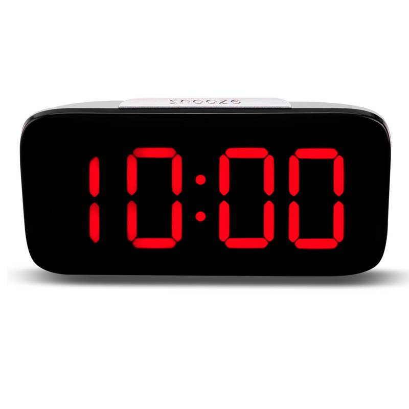 Reveil-Reveil-Numerique-Avec-Commande-Vocale-Et-Grand-Snooze-Horloge-LED-G3C3 miniature 3