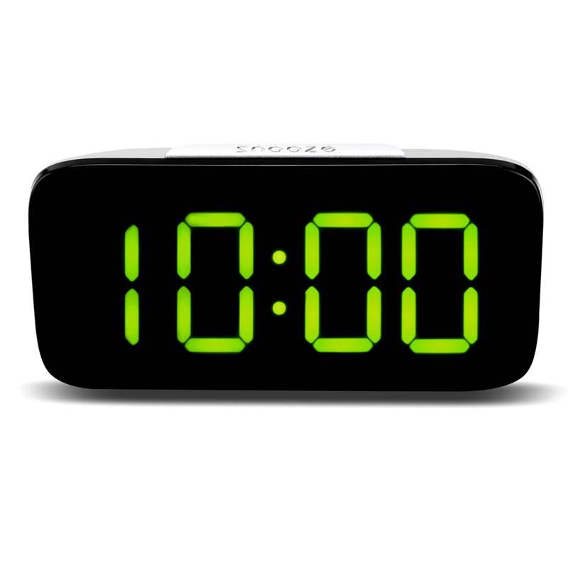 Reveil-Reveil-Numerique-Avec-Commande-Vocale-Et-Grand-Snooze-Horloge-LED-G3C3 miniature 12
