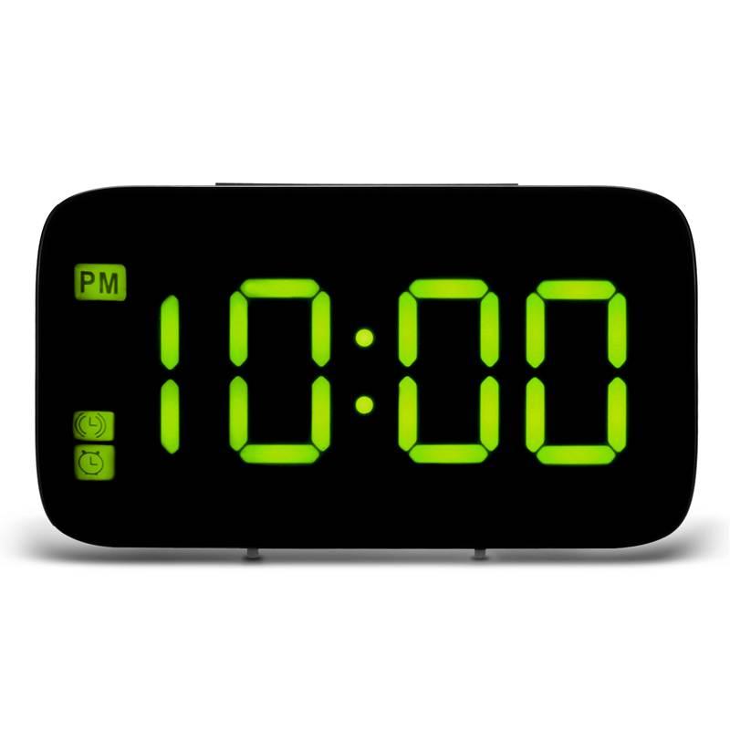 Reveil-Reveil-Numerique-Avec-Commande-Vocale-Et-Grand-Snooze-Horloge-LED-G3C3 miniature 13