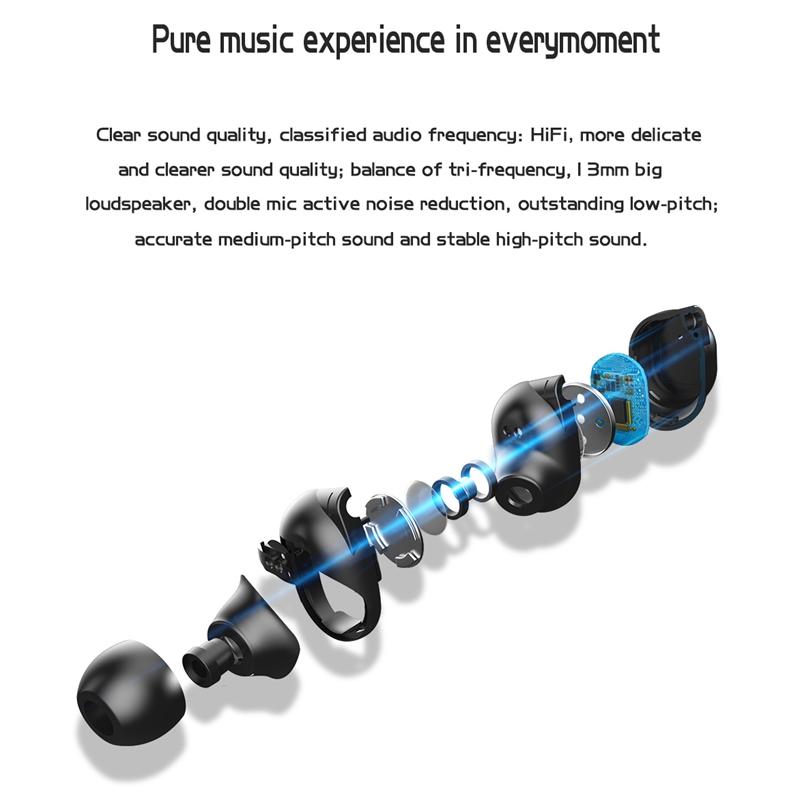 Tws-Contact-Mini-True-Bluetooth-Sans-Fil-Ecouteurs-Jumeaux-Casque-Ecouteur-V5B3 miniature 5