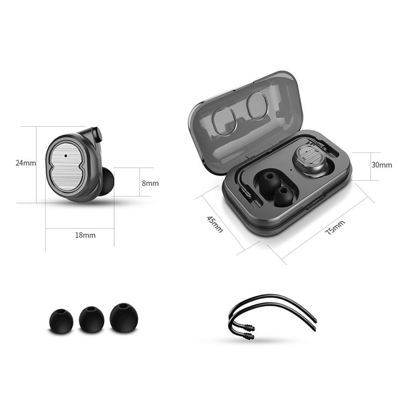 Tws-Contact-Mini-True-Bluetooth-Sans-Fil-Ecouteurs-Jumeaux-Casque-Ecouteur-V5B3 miniature 6