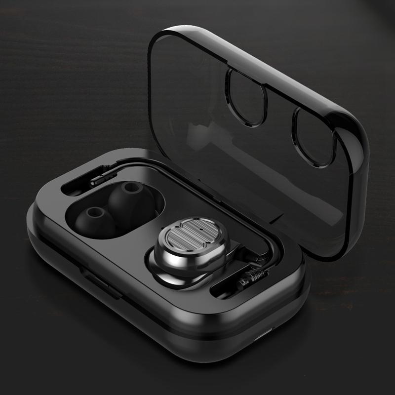 Tws-Contact-Mini-True-Bluetooth-Sans-Fil-Ecouteurs-Jumeaux-Casque-Ecouteur-V5B3 miniature 7