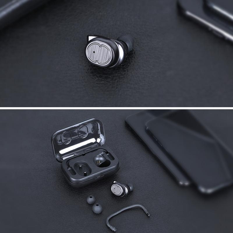 Tws-Contact-Mini-True-Bluetooth-Sans-Fil-Ecouteurs-Jumeaux-Casque-Ecouteur-V5B3 miniature 10