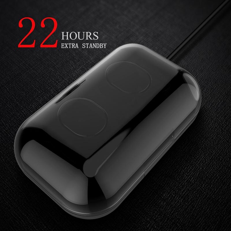 Tws-Contact-Mini-True-Bluetooth-Sans-Fil-Ecouteurs-Jumeaux-Casque-Ecouteur-V5B3 miniature 11