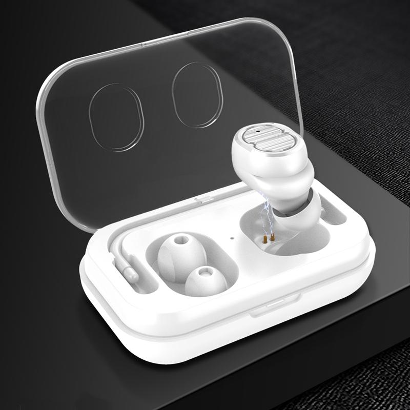 Tws-Contact-Mini-True-Bluetooth-Sans-Fil-Ecouteurs-Jumeaux-Casque-Ecouteur-V5B3 miniature 13