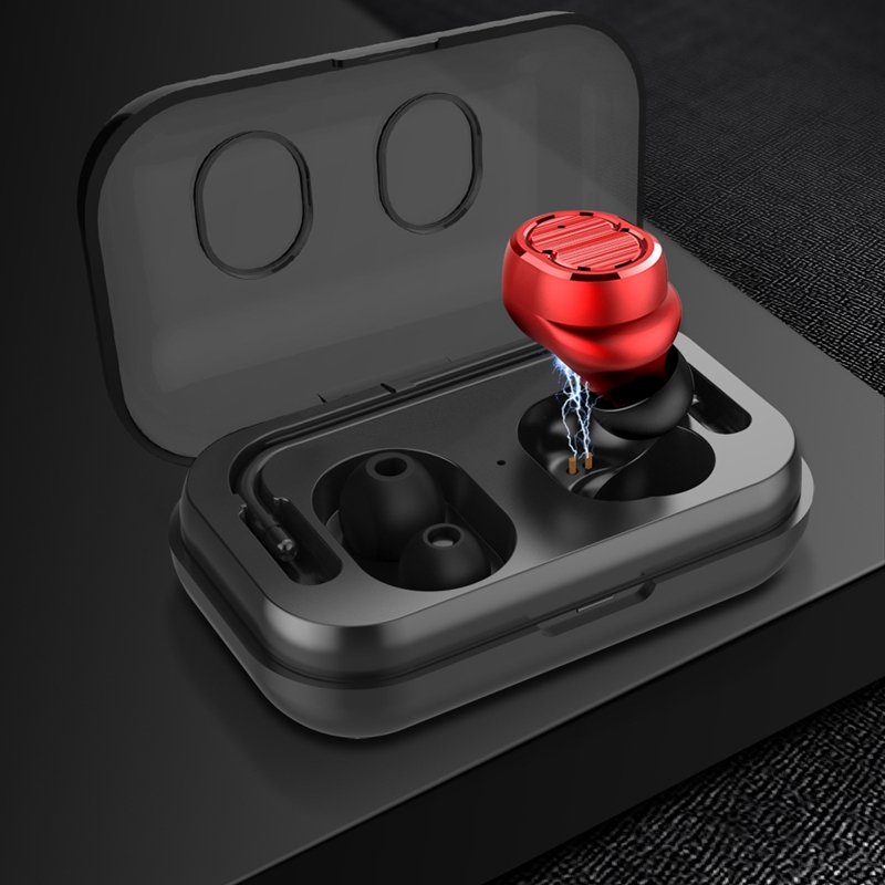 Tws-Contact-Mini-True-Bluetooth-Sans-Fil-Ecouteurs-Jumeaux-Casque-Ecouteur-V5B3 miniature 19
