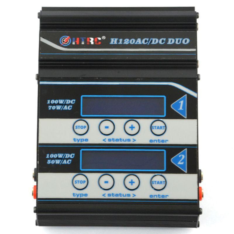 1x (htrc batería ladegeraet h120 AC DC dual puertos balance ladegeraet descargador f l7m1