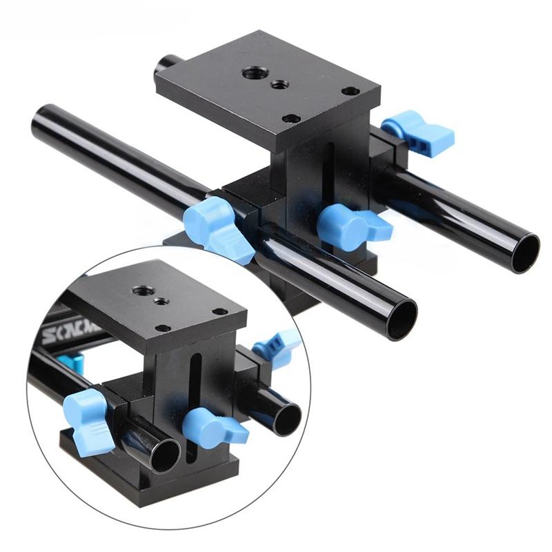 SMALLRIG DSLR Equipo de Hombro Cambio//Fácil Placa para Railblocks Colas-1598