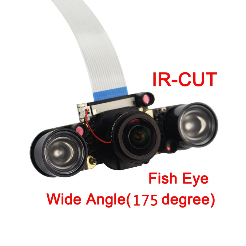 5MP-New-Raspberry-Pi-3-Model-B-IR-CUT-Camera-Focal-Adjustable-Night-Automa-C5J5 thumbnail 3
