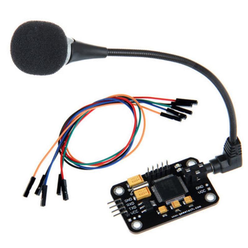 Modulo-de-Reconocimiento-de-Voz-Con-Microfono-Tablero-de-Control-de-Voz-de-G5X7 miniatura 2