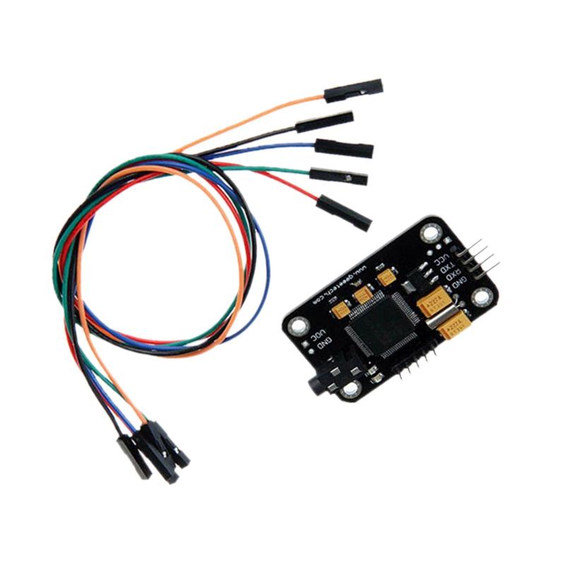 Modulo-de-Reconocimiento-de-Voz-Con-Microfono-Tablero-de-Control-de-Voz-de-G5X7 miniatura 3