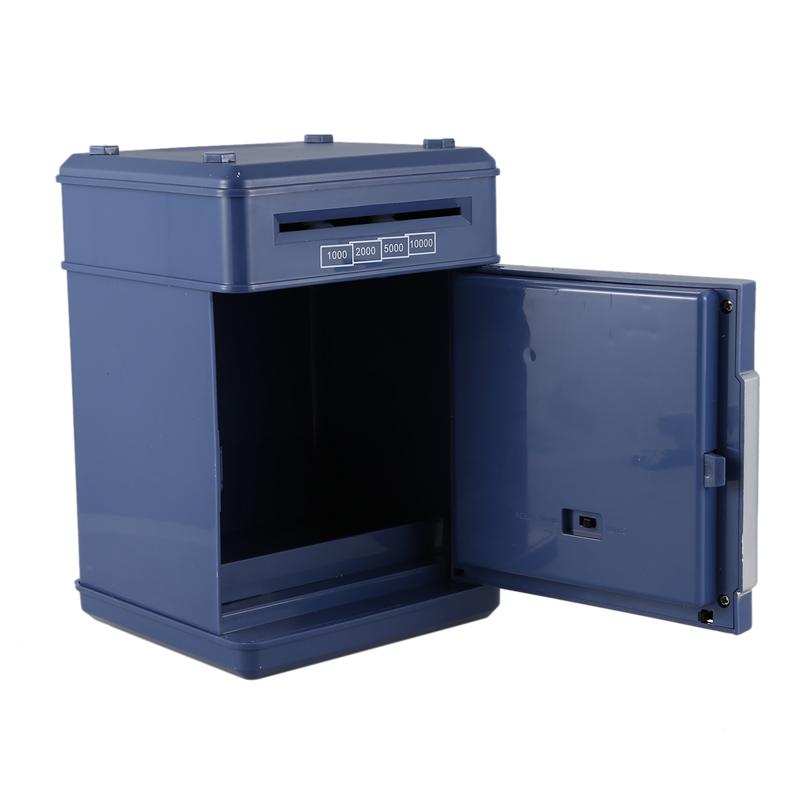 Hucha-Electronica-Contrasena-Caja-De-Dinero-Caja-De-Ahorro-De-Monedas-De-Efe-6W8 miniatura 7